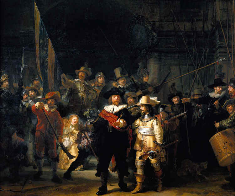 Nachtwacht (NIght Watch) by Rembrandt