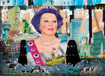 Queen Beatrix, Affordable Art Fair