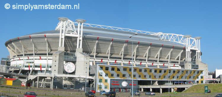 Amsterdam ArenA, home of Ajax soccer team.