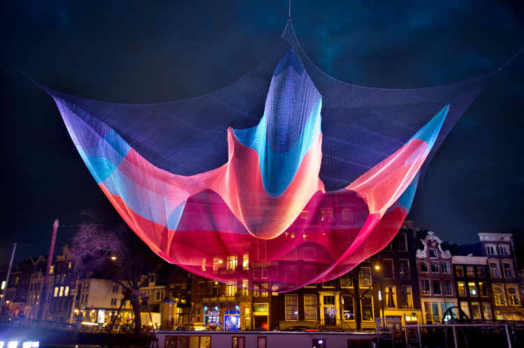 Amsterdam Light Festival 2013/2014 has started