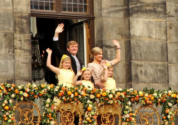 Inauguration of King Willem-Alexander in Amsterdam without problems