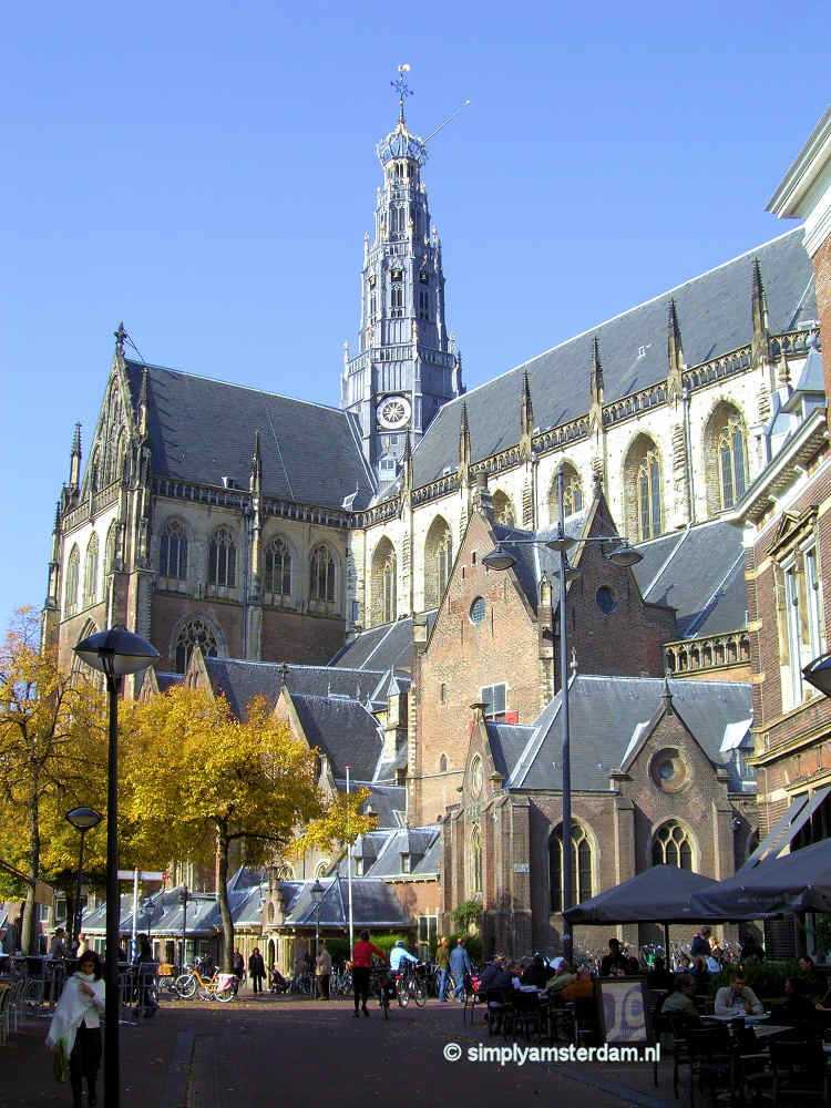 Sint Bavo Church in Haarlem