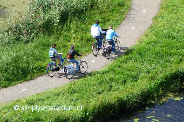 Bicycle routeplanners for Amsterdam and around