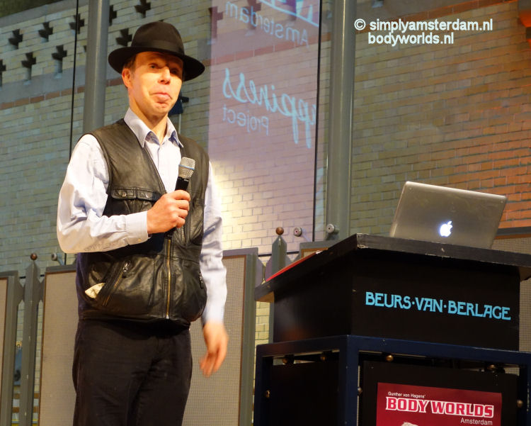 Dr. Gunther von Hagens (Body Worlds - the Happiness Project)