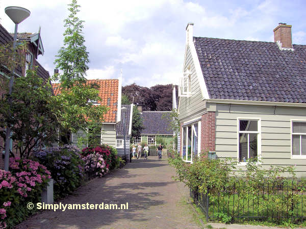 Houses in Broek in Waterland