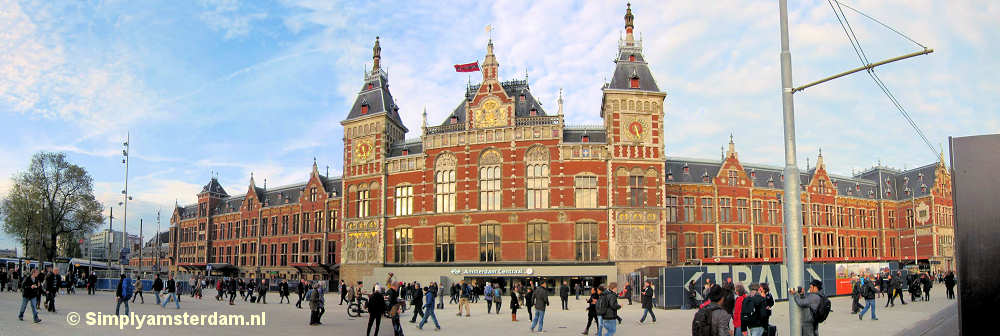 Central Station of Amsterdam