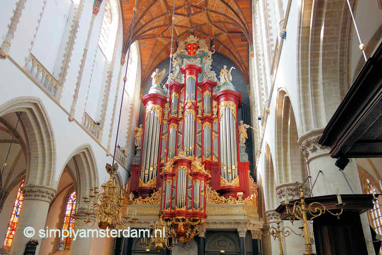 Christian Müller organ in Sint Bavo Church in Haarlem