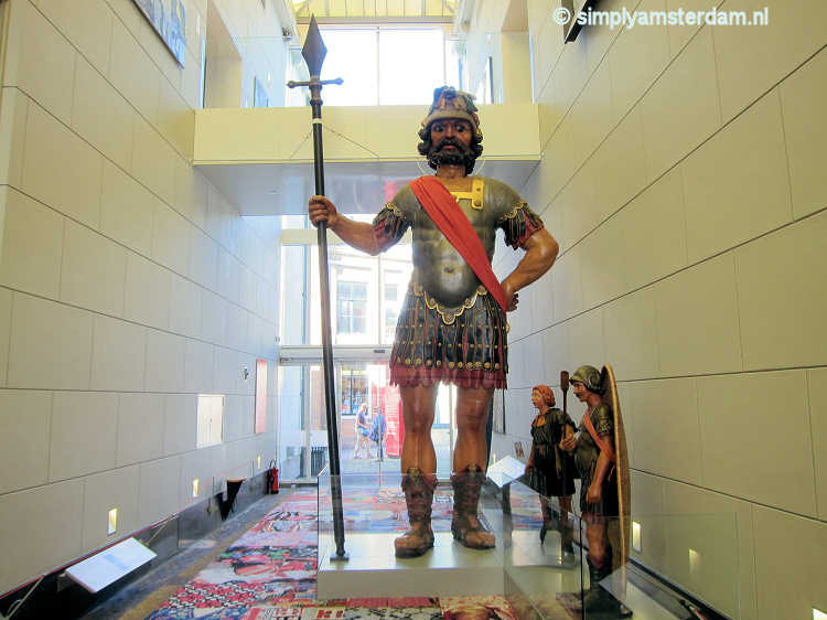 Giant Goliath in Amsterdam Museum