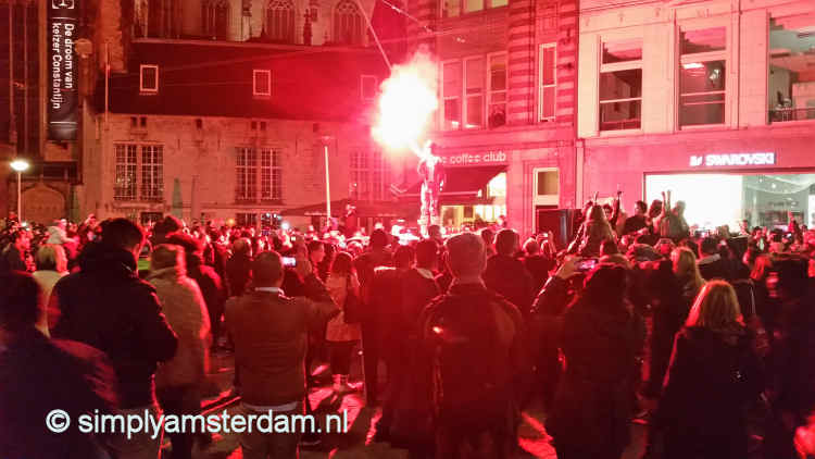 Amsterdam Halloween parade attracts thousands of spectators