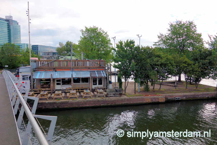 Restaurants in Amsterdam with outdoor seating