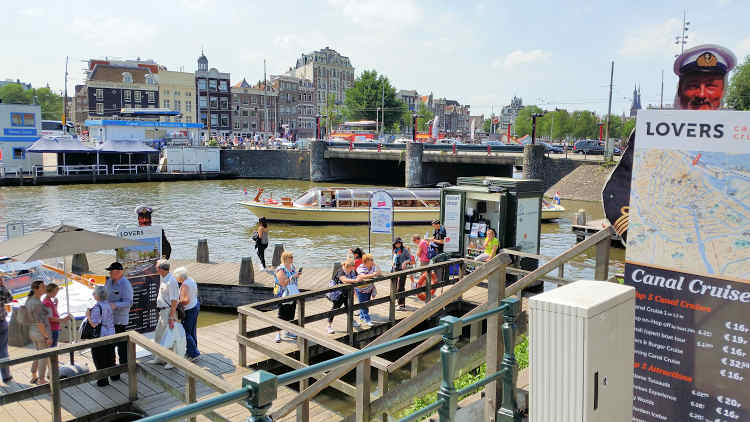 Lovers Canal Cruises @ Centraal Station