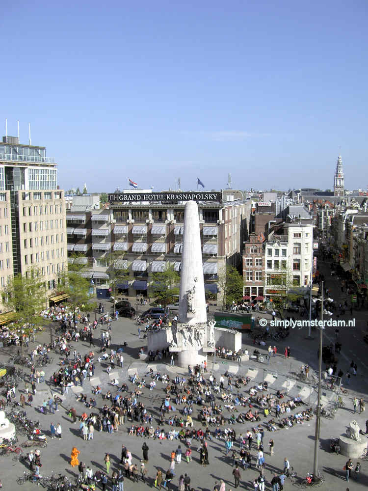 Tonight 4 May commemoration on Dam Square, tomorrow Liberation Day