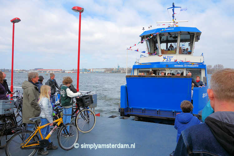 New ferry connection Amsterdam East - Amsterdam North