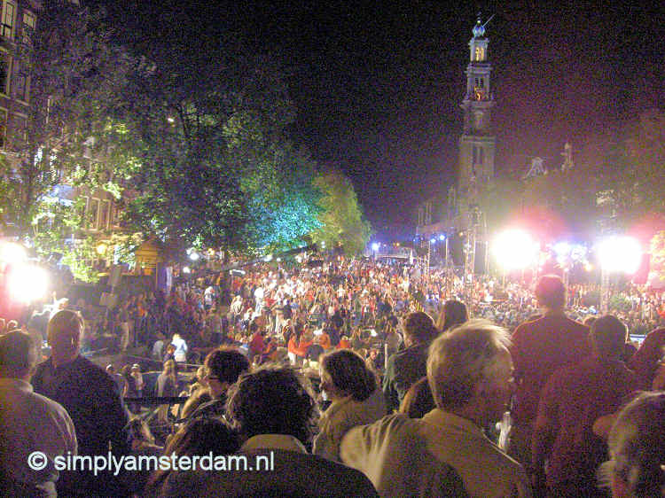 Tonight 30th edition of open-air Prinsengracht Concert