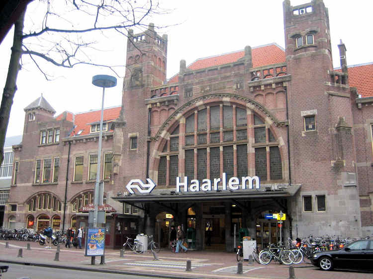 Main train station Haarlem