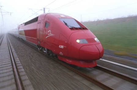 Amsterdam Paris high speed train connection starting December 13