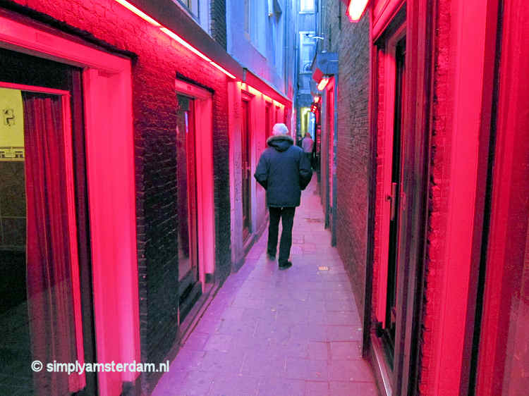 Narrowest Alleys In The Red Light District