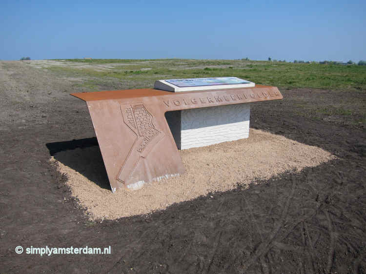 Information point Volgermeerpolder