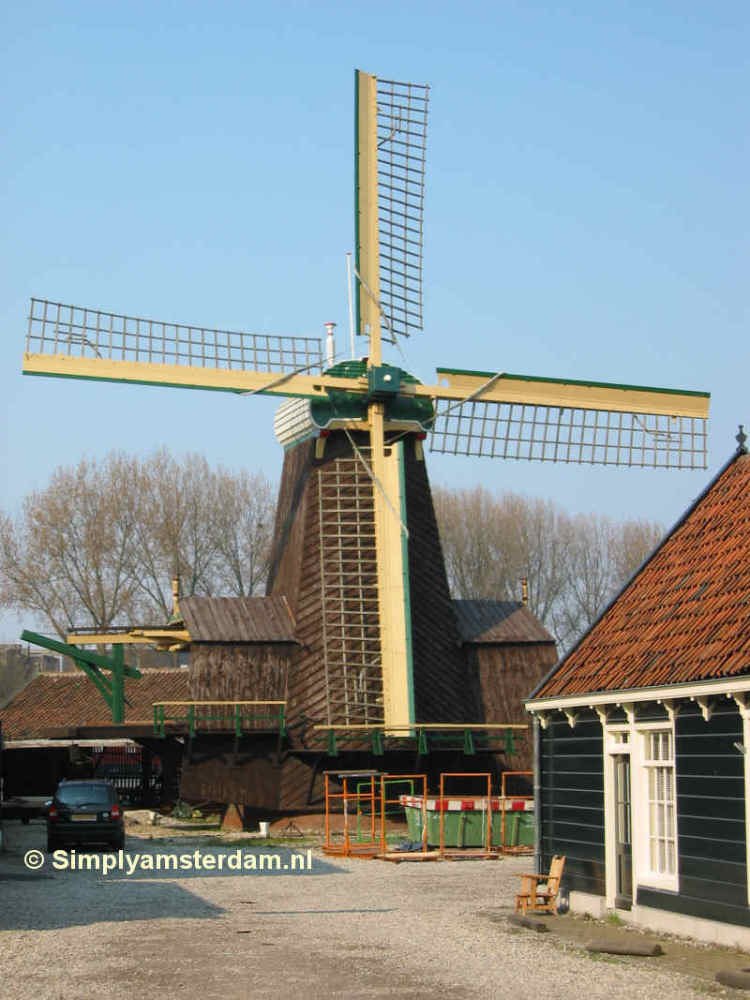 Amsterdam-West wants windmill De Otter to remain in Amsterdam
