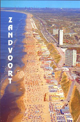 Extra trains to and from Amsterdam and Zandvooort beach