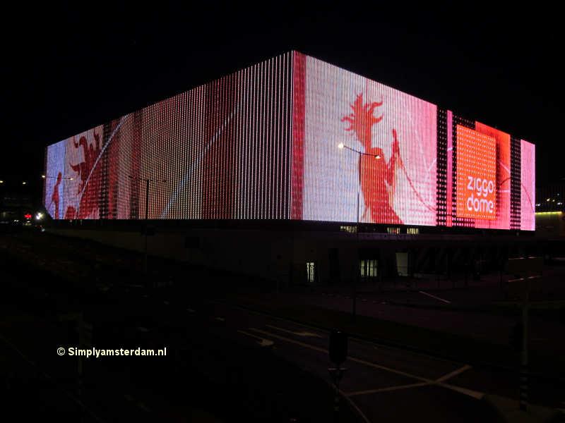 Ziggo Dome new pop theatre in Amsterdam
